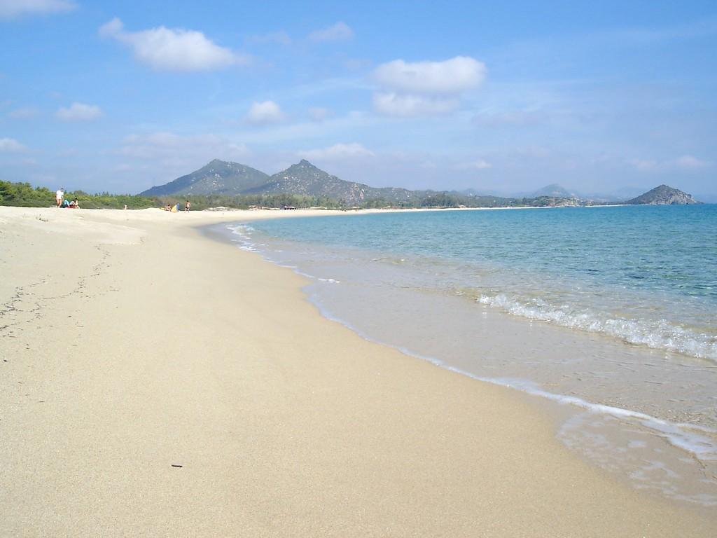 Le meravigliose spiagge di Costa Rei